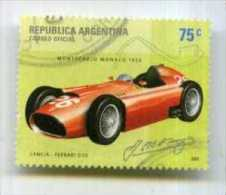 ARGENTINA 2001 CARS LANCIA FERRARI D50 USED FORMULA 1 - Automobilismo