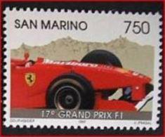 SAN MARINO 1997 SPORT 17 GRAND PRIX F1 NUOVO CARS F1 FERRARI - Automobilismo