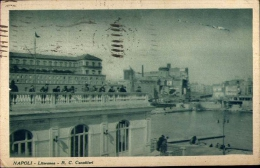 Napoli - Litoranea - R.c. Canottieri - Formato Piccolo Viaggiata - Napoli