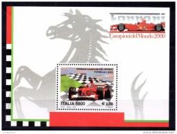 ITALIA 2001 FERRARI CAMPIONE DEL MONDO 2000 - B.F. 33 NUOVO FORMULA 1 CARS RACE - Automobilismo