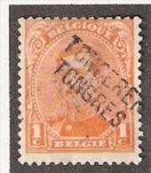 011607 Sc 108 1c ALBERT I - TONGEREN/TONGRES -  [POST WW I FORTUNE - LINE NAME CANCEL] - Postmark Collection
