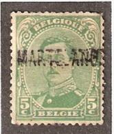 011609 Sc 111 BELGIUM - MARTELANGE -  [POST WW I FORTUNE - LINE NAME CANCEL] - Postmark Collection