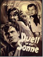 """Illustrierte Film-Bühne  -  """"Duell In Der Sonne"""" -  Mit Jennifer Jones  -  Filmprogramm Nr. 1602 Von Ca. 1951 - Magazines"""