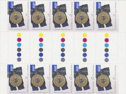 Australia 2008 Queen Elizabeth Birthday $ 2.00 Gutter Strip - 2000-09 Elizabeth II