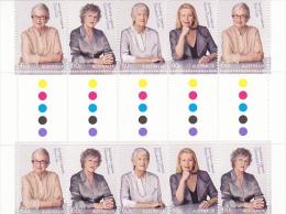 Australia 2011 Advancing Equality Gutter Strip MNH - 2010-... Elizabeth II