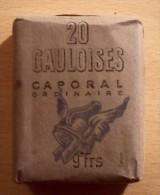 PAQUET DE CIGARETTE GAULOISE TROUPE....MANUFACTURE DE L´ETAT - 1914-18