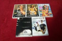 LOT 5 DVD POUR 10 EUROS ° ILS + HOOKED + VIDEO MAG  + REVES DE CUIR 1 ET 2 - Collections & Sets