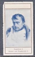 CINDERELLAS  VINETTES    NAPOLEON  EMPEROR OF FRANCE - Commemorative Labels