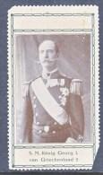 CINDERELLAS  VINETTES    Corner Fault    GEORG I. KING OF GREECE - Greece