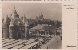 AK  - Amsterdam - Nieuwmarkt  Met Waag - 1930 - Amsterdam