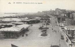 Dieppe - Perspective De La Rue Aguado - Entrée Du Casino - Carte CAP N°185 Non Circulée - Dieppe