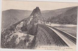 (R)42 ROCHETAILLEE ; La Descente Et Le Barrage - Rochetaillee