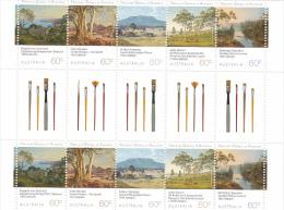 Australia 2013 Landscapes  Gutter Strip MNH - 2010-... Elizabeth II