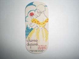 Carte Parfumée  SALANCY  PARIS  Charme Du Passé (Maison JEAN Coiffeur à VIERZON-VLLAGES  CHER) - Cartes