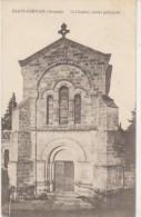 CPA 33 SAINT GERVAIS Eglise Le Clocher 1915 - Non Classés