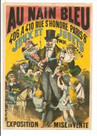 Pub - AU NAIN BLEU  - Jeux Et Jouets - Cpsm Grand Format Couleur - Affiches Camis - Werbepostkarten