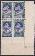 N° 440 Propagande En Faveur De La Natalité: Bloc Coins Datés Du 25.5.39 - 1930-1939