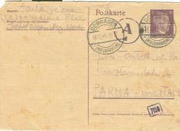 POSTKARTE, DORMAGEN - PARMA, 1944 - Deutschland