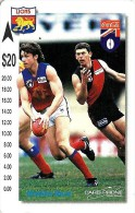 AUSTRALIA $20 RUGBY LIONS TEAM COCA COLA LOGO SPORT RARE ISSUED BY CARDPHONE 250 ONLY !!! READ DESCRIPTION !! - Australie
