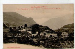 VALLEE DE LUCHON. CAZAUX. VUE GENERALE DU VIEUX VILLAGE - Autres Communes
