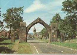 EDZELL. ANGUS - Ornamental Entrance Arch - Angus