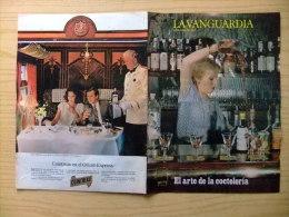 LA VANGUARDIA EL ARTE DE LA COCTELERIA (MARIA DOLORES BOADAS) Ver Las Fotos - Revistas & Periódicos