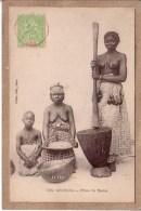 SENEGAL - DAKAR - 234 - FILLES DE DAKAR - FEMME - SEINS NUS - Collection Fortier - Avant 1904 - Senegal