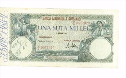 100 000 Lei 1946 USAGE Mais Bel Aspect - Romania