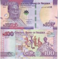 New Attractive  NIGERIA  100 Naira  Commemorative Banknote   PNEW   2014   UNC - Nigeria
