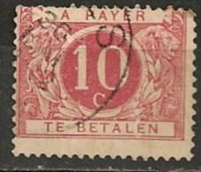 Timbres - Belgique - Taxes - 1895-1909 - 10 C. -