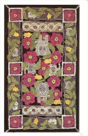 """22"""" X 38"""" Traditional Hooked Rug Pattern """"West Of Eden"""" By Jeanette Szatkowski - Articles Of Virtu"""