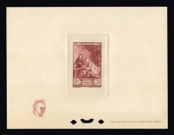 FRANCE EPREUVE DE LUXE N° 753 Musée Postal. Neuve Sans Gomme. Petit Format Avec Remarque. Cote Yvert 400 €. TTB - Prove Di Lusso