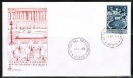 VA 1978 VATICAN CEREMONIA FUNEBRE S.S. GIOVANNI PAOLO I - Popes