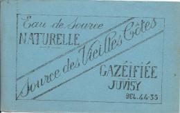 Buvard/ Eau De Source / Le Vieilles Côtes/Gazéifiée/JUVISY/Vers 1950        BUV203 - Limonadas - Refrescos