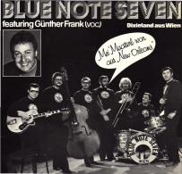 * LP *  BLUE NOTE SEVEN (featuring Günther Frank) - DIXIELAND AUS WIEN (Austria 1980 EX!!!) - Jazz