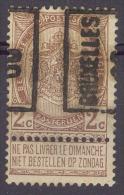 België/Belgique  Preo  N°315A  Bruxelles 1900. - Precancels