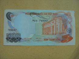 South Vietnam Viet Nam 500 Dong EF Banknote 1970 - P#28 / 2 Images - Vietnam