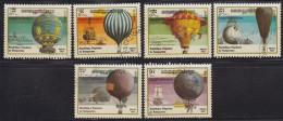 1252(4). Kampuchea, 1983, Ballons, Used (o) (6/7 Values, Set Is Not Complete) - Kampuchea