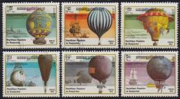 1252(7). Kampuchea, 1983, Ballons, Used (o) (6/7 Values, Set Is Not Complete) - Kampuchea