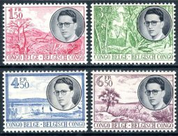 Congo Belge   333 - 336    XX   ---    TTB - 1947-60: Mint/hinged