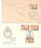 Salvad Los Tesoros De Nubia 2 Special Covers Argentina 1963 Y 1966 Sobres Raros EGIPTOLOGIA FARAONES EGYPTE EGITTO EGIPT