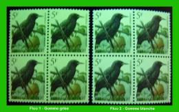 BUZIN - 2638** Etourneau Sansonnet / Spreeuw - Fluo Gomme Grise + Fluo Gomme Blanche - 1985-.. Oiseaux (Buzin)