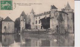 33-la Brède-château Montesquieu - France