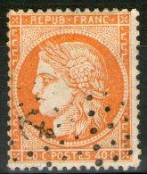 "N°38 Oblitéré ""ANCRE""      - Cote 40€ - - 1870 Assedio Di Parigi"