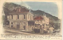 """MONACO  -=-  MONTE CARLO  -=-  CPA  -=-   Galerie CHARLES III Et Café Riche     """" Précuseur """" - Cafés & Restaurants"""