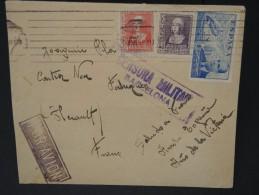 ESPAGNE - Lettre Censurée - Guerre Nationaliste - Détaillons Collection - Lot N° 5471 - Marcas De Censura Nacional