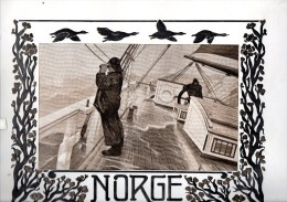 NORGE - NORWAY - 1917 - TOURIST BROCHURE FULL OF PICTURES AND ADVERTS - IDEAL FOR FRAMING - Scandinavian Languages