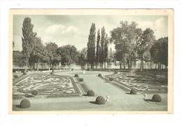 CPA  78 - Rosny Sur Seine Jardin Français Château Rosny - Rosny Sur Seine