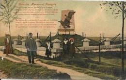 WATERLOO : Monument Francais - TRES RARE CPA - Courrier De 1913 - Waterloo