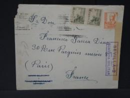 ESPAGNE - Lettre Censurée - Guerre Nationaliste - Détaillons Collection - Lot N° 5479 - Marcas De Censura Nacional